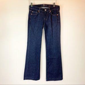 7 For All Mankind dojo jeans 27